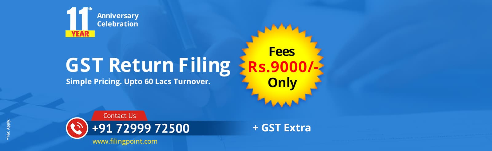 GST Filing Services Near Me Chennai Anna Nagar West