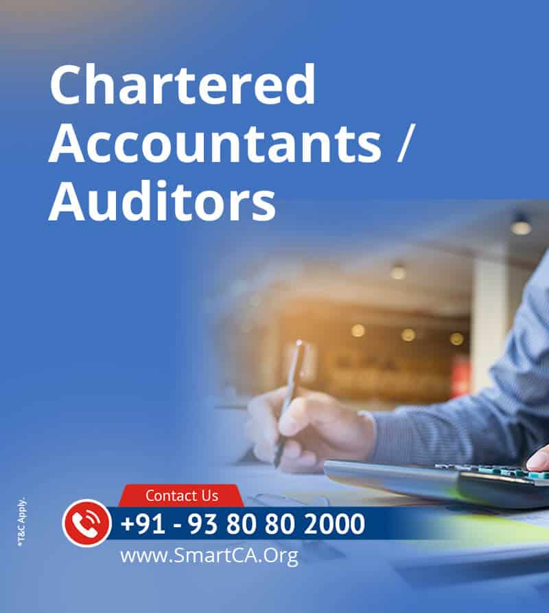 Auditors in Chennai | Top CA | CA Firms | Smart CA |Chennai-India-Online